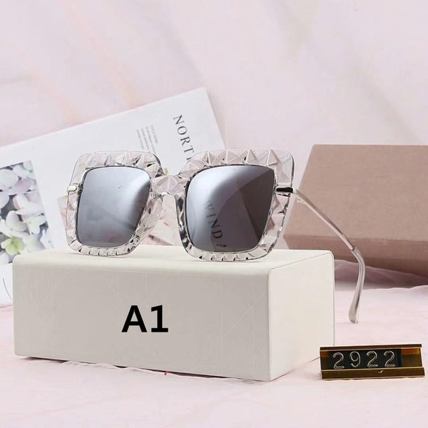best selling Womens Sunglasses Summer Sunglasses for Woman UV400 3 Model 2922 1711 9011 15 Colors Highly Quality