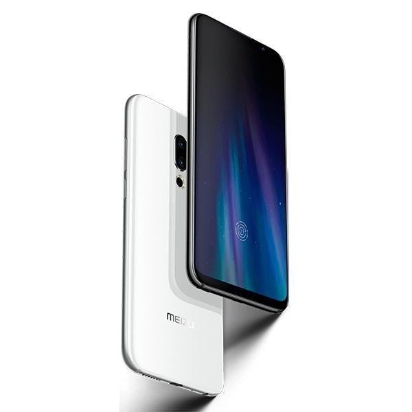Original Meizu 16th 16th 6 / 8GB 64 / 128GB Snapdragon 845 Octa Core 6.0 '' 2160x1080P Front 20.0MP Fingerprint in-Screen