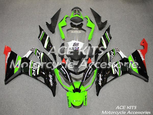 Carenado de motocicletas ACE para Kawasaki Ninja ZX6R 2013 2014 2015 2016 Compresión o inyección Una variedad de colores No.775