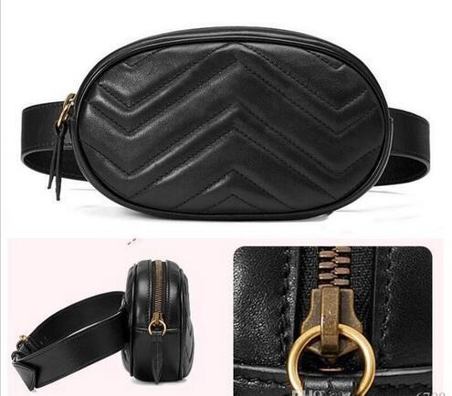 best selling New Fashion Pu Leather Handbags Women Bags Fanny Packs Famous Waist Bags Handbag Lady Belt Chest bag Crossbody bag4 colors Top Quality