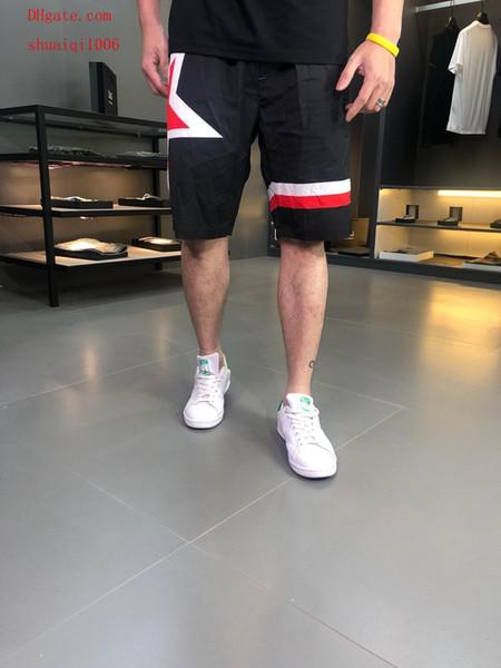 2019 yeni erkek marka eşofman mens yaz şort pantolon şort hommes dökün plaj şort Yumuşak kumaş jogging yapan streetwear erkekler s giyim MIT-14