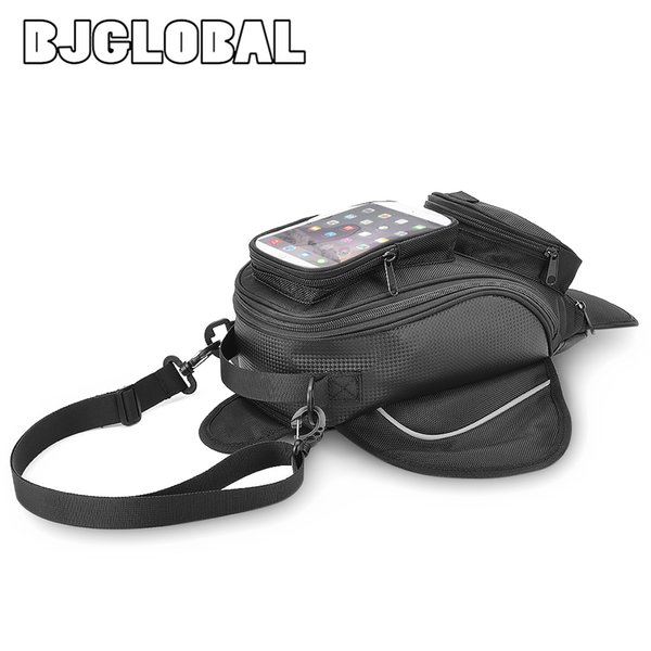 Waterproof Motorcycle Tank Bag Motocicleta Luggage Fuel Tank Bag Saddle Shoulder Motor Fixed Package For iPhone Xiao Mi