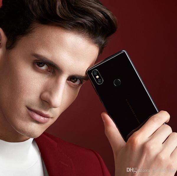 DHL Wholesales Global Version Xiaomi Mi Mix 2S 8GB 256GB Snapdragon 845 Face ID NFC 5.99 inch Full Screen AI Dual Camera Wireless charging