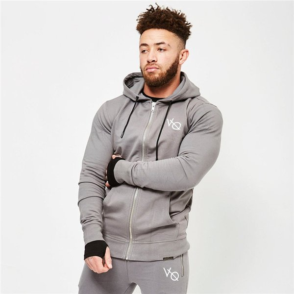 Doutor Muscle Brothers Europe e os Estados Unidos New Outono e desportos de Inverno Opentops Guards Mens vestuário fitness Chapéus Coats Atacado
