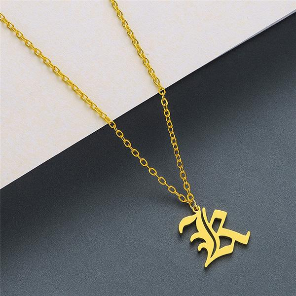 A-Z Letters gold