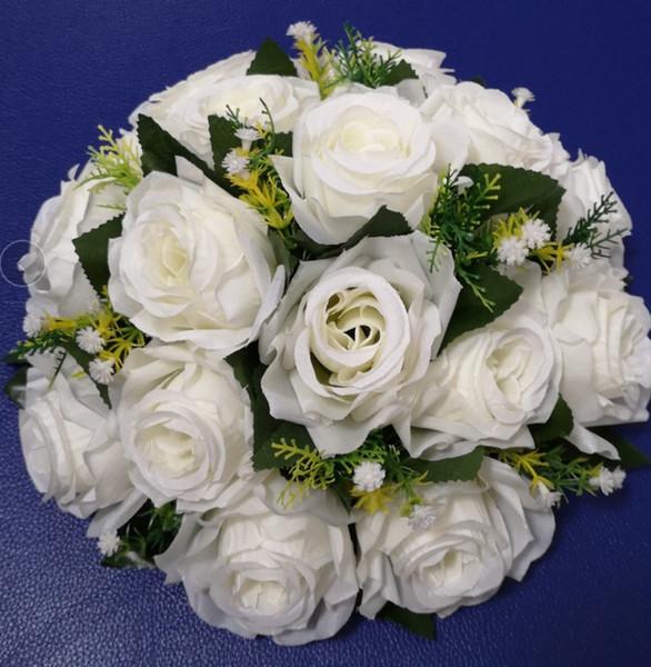 flower ball white