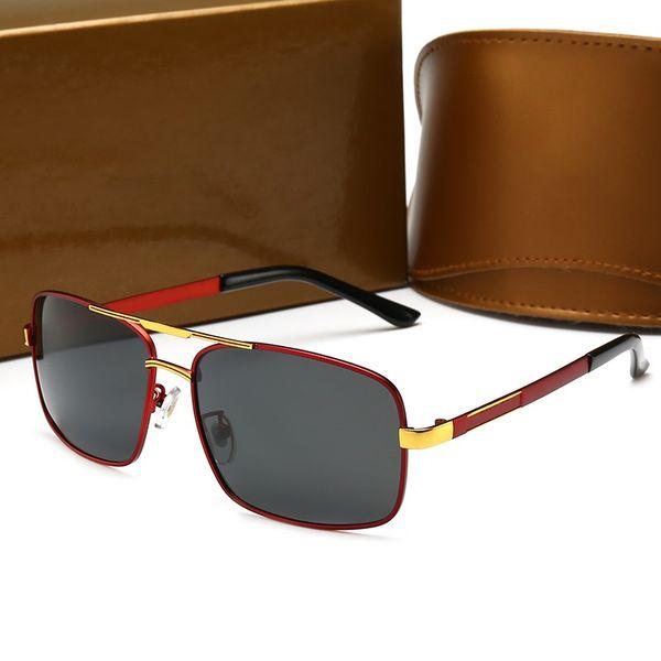 10011 Luxury Explain Glasses Retro Vintage Men Designer Glasses Shiny Gold Summer Style Laser Logo Gold Plated Top Quality