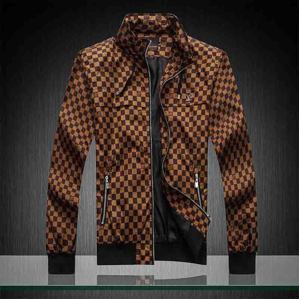 New fashion women men coats splash-ink High Street men jacket fashion mens windbreaker of harajuku mens coats #57