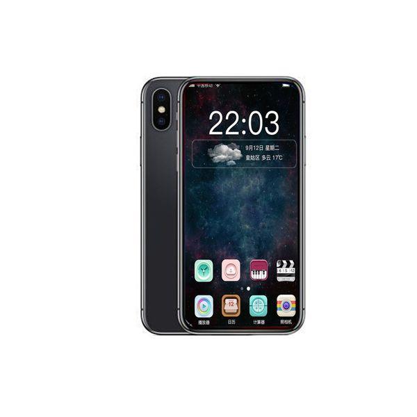 Goophone XS MAX X PLUS 6.5 pulgadas ID de la cara y soporte Cargadores inalámbricos Smartphones 1G / 16G Mostrar falso 4G LTE desbloqueado teléfono inteligente