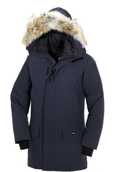 High Quality Men Winter Down Coat Brand Hooded Long Parka Jackets 5 Colors Men Warm Canada Coat Outdoor Winter Jacket