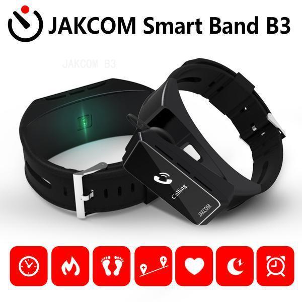 Reloj elegante JAKCOM B3 venta caliente en pulseras inteligentes como descargas bf SmartWatch gps SmartWatch mujer