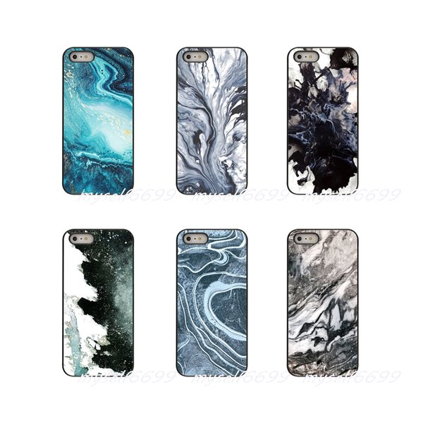 Marble Pattern beautiful Black Hard Phone Case Cover For Apple iPhone X XR XS MAX 4 4S 5 5S 5C SE 6 6S 7 8 Plus ipod touch 4 5 6