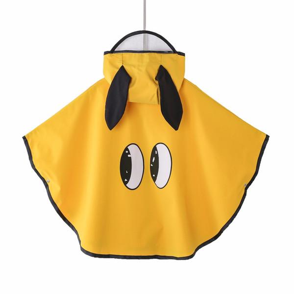 Cartoon raincoat for children kids Capa De Chuva windproof waterproof rain poncho coat chubasquero