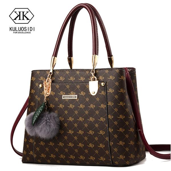 Luxury Handbags Women Bags Designer Brand Women Leather Bag Handbag Shoulder Bag For Women 2018 Sac A Main Ladies Hand Bags J190619