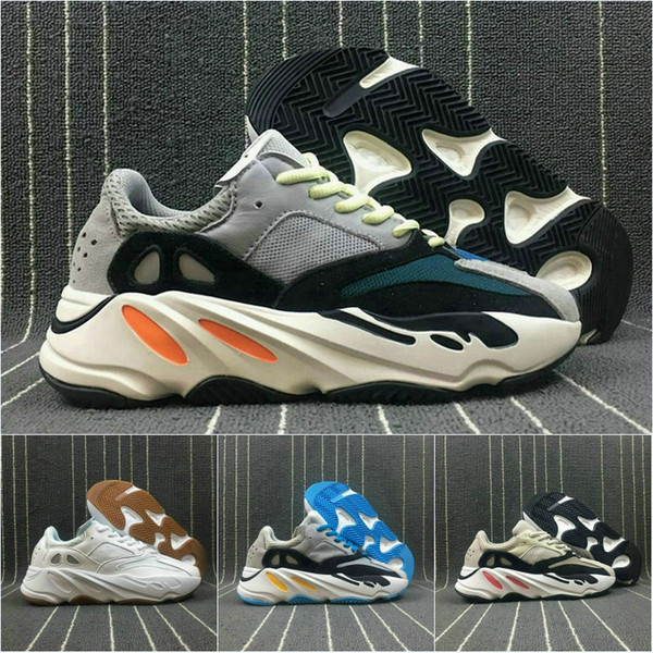 2019 wave runner 700 real womens mens running shoes design by kanye west season5 700s sneakers men boots size 36-46 qwe