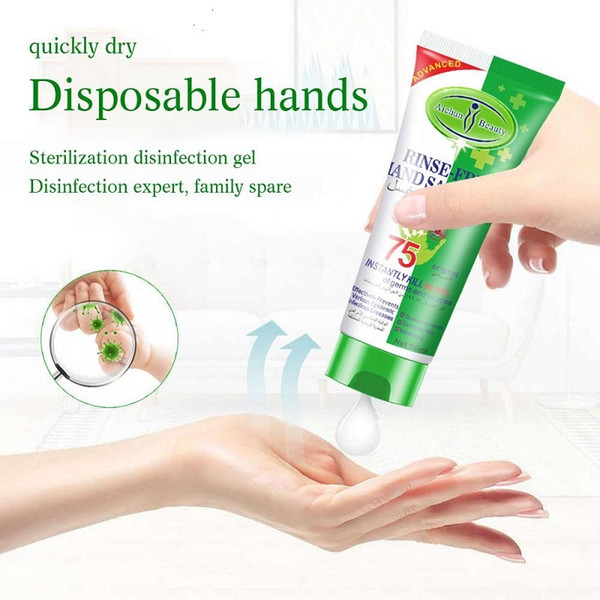 best selling Aichun 50ML Mini Hand Sanitizer Gel Hydroalcolique Antibacterial Hand Gel Travel Hand Soaps Antiseptic Alcohol Gel air11