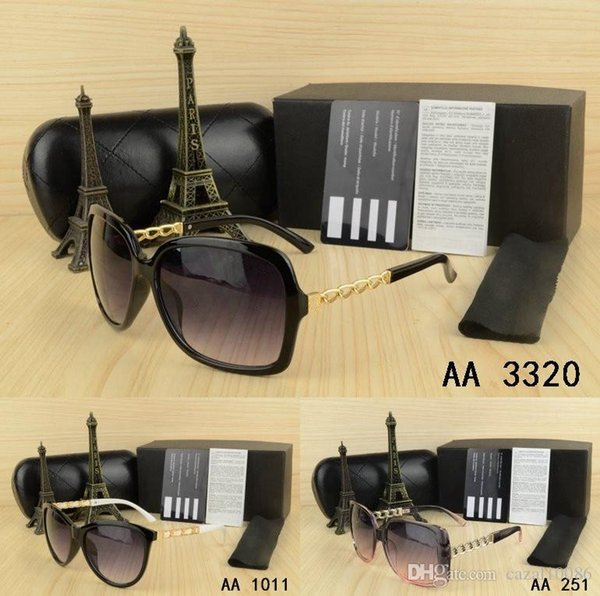 kaka Design men women Sunglasses with origianal box eyeglasses gold Metal Square frame classical Vintage nice Glasses for Friends as Gifts