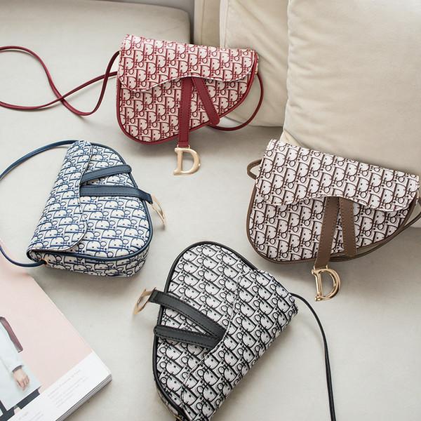 Borsa sacchetto della sella Star lo stesso Prodotti di vendita caldi Retro a mano spalla Stampato Fashion PU borsa può Slant
