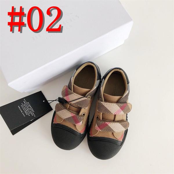 Enfants Chaussures De Toile Pour Filles Enfants Chaussures Filles Garçons Baskets Respirant 2019 Nouvel Automne Printemps Chaussure Bébé 2-9 Ans