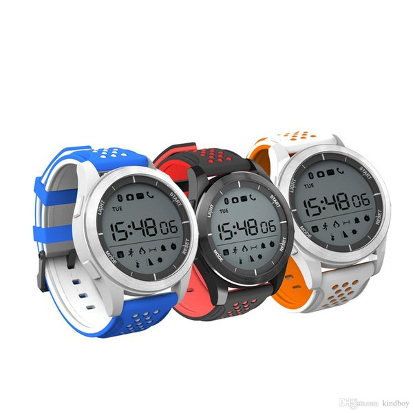 Mode Nr. 1 F3 Smart Watch Armband IP68 wasserdicht Smartwatches Outdoor-Modus Fitness Sport Tracker Reminder Wearable Devices