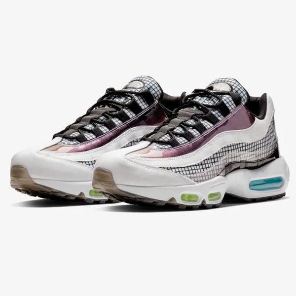 promo code e41e6 bd414 Compre Zapatillas De Running Nike Air Max 95 OG Premium Para Hombre  Zapatillas Deportivas 95s Essential Man Sports Sneakers Diseñador Correr  Scarpe Schuhe ...
