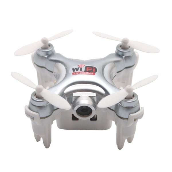CX-10W-TX Mini RC Quadcopter Remote Control Drone con fotocamera Wifi FPV Elicotteri RTF Phone App Control Toys