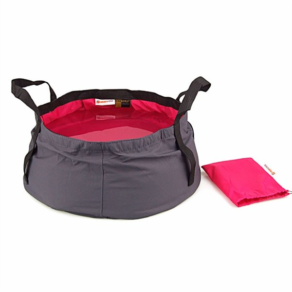 Best selling ultra-light Outdoor Foldable Folding Camping Washbasin Basin Bucket Bowl Sink Washing Bag dry bags portable #234648