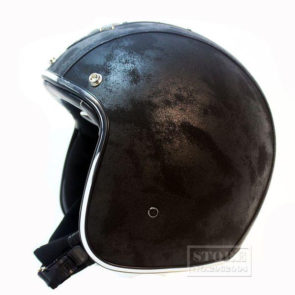 2018 Vintage motorcycle DOT approved half helmet helmet open face retro helmets motociclistas capacete motocicleta arai