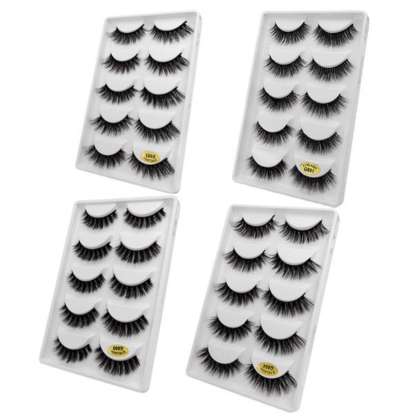 False Eyelashes 3d Lashes Natural Handmade Volume Soft Lashes Long Eyelash Extension Real Eyelashes For Makeups