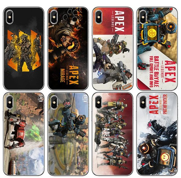 New Mobile phone case European American Style Mobile phone case High Quality Game Diagram Soft Mobile phone Shell For iPhone X XR XSMAX