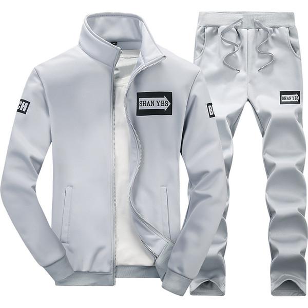 tuta sportiva da uomo firmata tuta sportiva da uomo primavera e autunno nuova versione coreana della giacca da uomo in due pezzi casual maglione casual