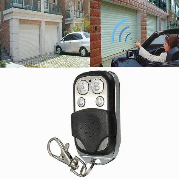 4 pulsanti 433.92MHZ 433MHZ 434MHZ Garage Door Remote Control Car chiave con dispositivo di apertura elettronica Gates veicolo Chiusura Centralizzata Sistemi