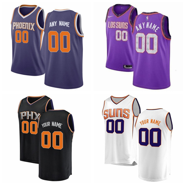 2019 PhoenixSuns Cameron Johnson Ayton Warren Jimmer Fredette Kelly Oubre Jr. 3 Devin Booker Bridges Josh Jackson Basketball Jersey