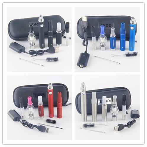 4 in 1 Vaporizer Starter Kit for Vapor Oil Ago G5 Dry Herb Glass Globe Wax Dome Evod Batteries 4in1 Vape Pen Ecigs