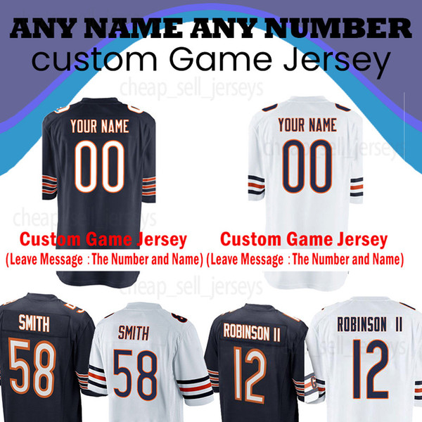 promo code c2f23 eabea 2019 Customized Chicago Bears Jersey 10 Mitchell Trubisky 54 Brian Urlacher  34 Walter Payton 52 Khalil Mack 17 Nthony Miller From Cheap_sell_jerseys,  ...