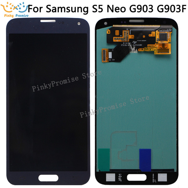 100% tested Super AMOLED For SAMSUNG S5 NEO G903 LCD for Samsung S5 NEO G903F LCD Screen Touch Digitizer Assembly