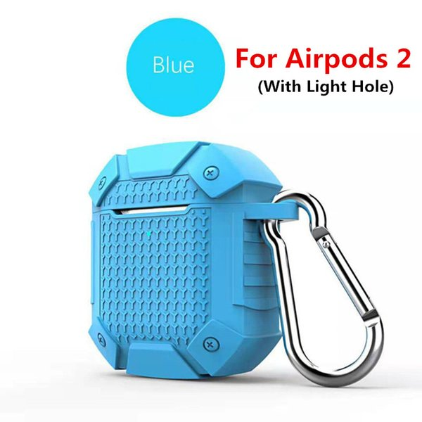 Blue For airpods 2 (With Light Hole)