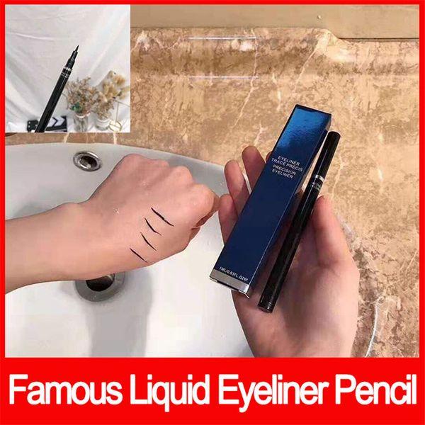 2019 Nuevo Famoso Precisiones de Maquillaje de Ojos Lápiz Delineador de ojos Lápiz Delineador de Ojos Impermeable Lápiz de Lujo Maquillaje envío gratis