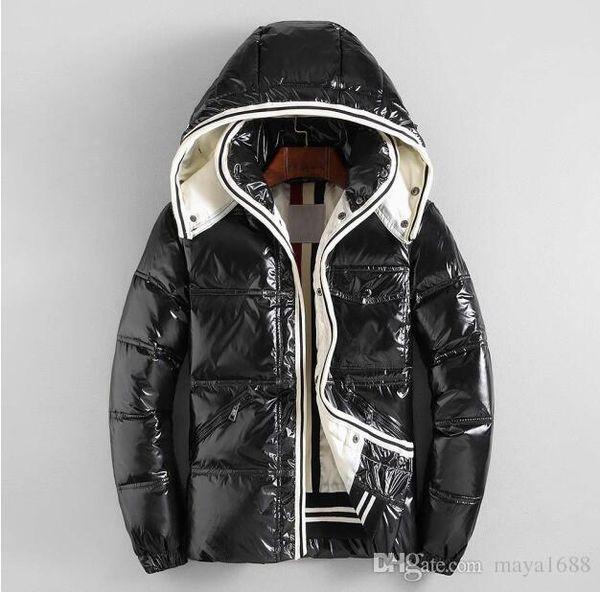 2019 New Men's Winter Down Jacket Men White Duck Down Jackets With Hoodies Outwear Parka coat