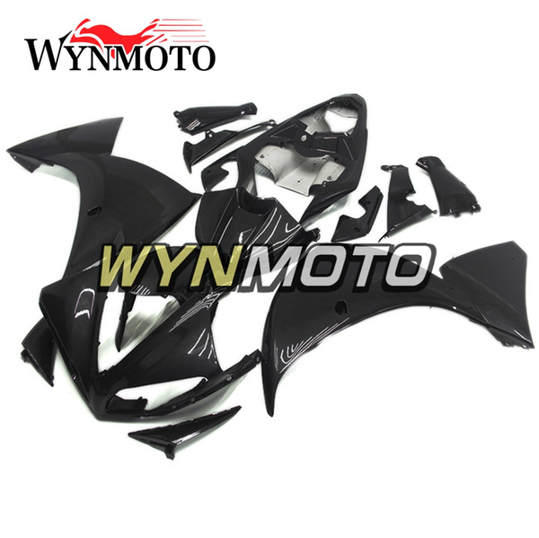 Carbon Fiber Effect style Motorcycle Fairings For Yamaha YZF 1000 R1 2009 2010 2011 ABS Plastic Injection motorbike Kits cowlings covers