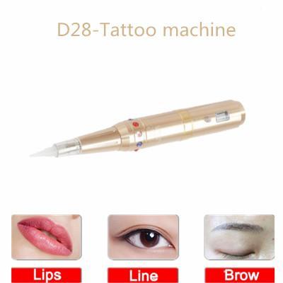 Nueva máquina de tatuaje semipermanente coreana de LED Línea de delineador de ojos blanqueadora línea de belleza máquina de tatuaje Máquina de semi-lanzamiento de tatuaje pequeña