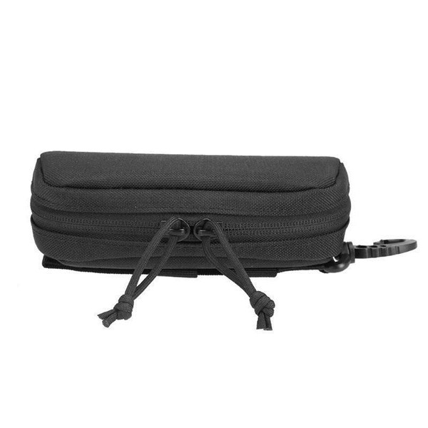 600d Nylon Tactical Waist Storage Bag Glasses Pouch Hunting Durable Portable Molle Case For Outdoor Accessory Belt Easy Carry #861509