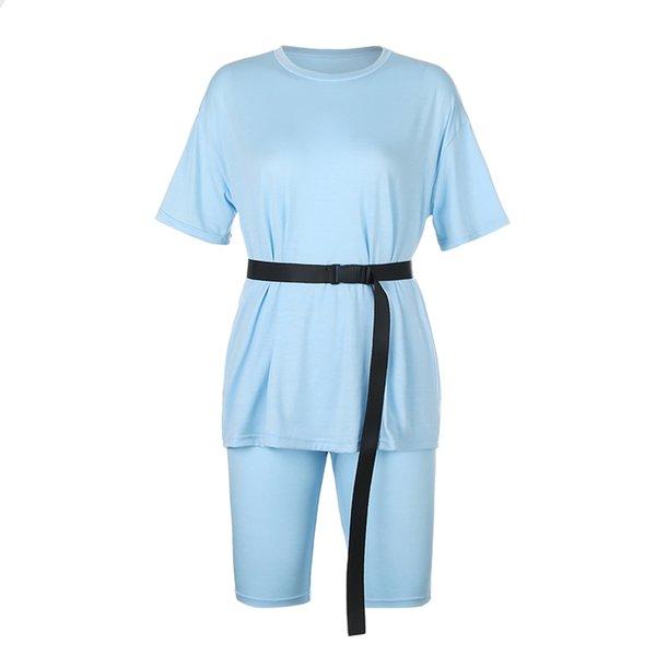 Blue Set With Belt