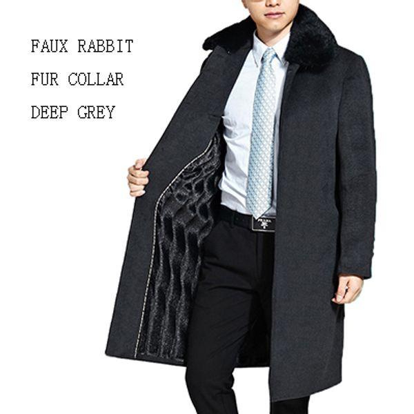 Deep Grey Faux Fur