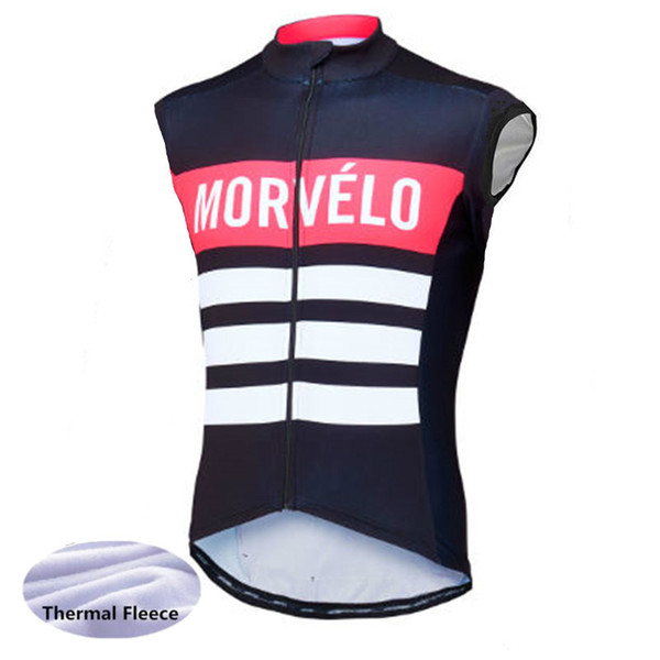 best selling Winter Thermal thermal Cycling Vest Men Morvelo Warm sleeveless Fleece Cycling jerseys  Bicycle Bike Clothing   Gilet ciclismo