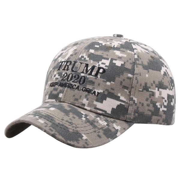 Camouflage Trump 2020 Snapback Hat Make America Great Again Snapback Cap Embroidery Baseball Cap Adjustable Sport Ball Caps Gift DBC VT0541
