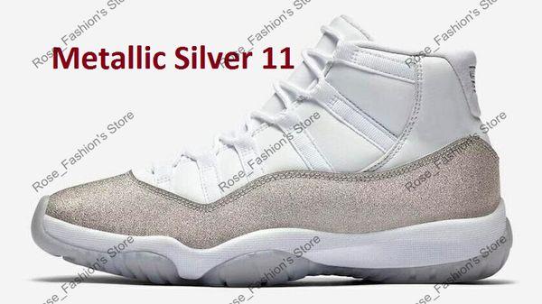 11s argent métallique