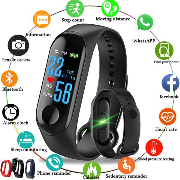 2019 Smart Watch Мужчины Женщины монитор сердечного ритма артериальное давление фитнес-трекер Smartwatch Sport Smart Clock Watch для IOS Android