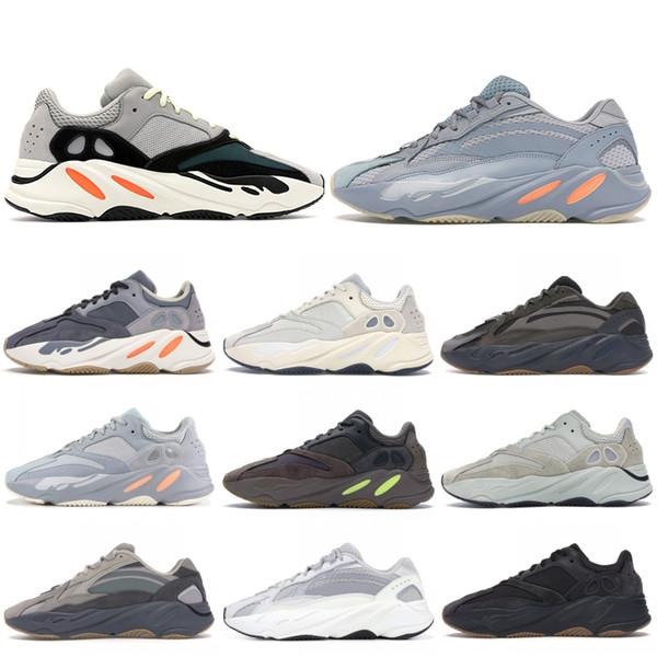 Adidas yeezy 700 Magnet Kanye West New inerzia V2 corridore dell'onda delle donne degli uomini scarpe Designer Tephra Statico Geode Mauve utilità nero scarpe da tennis correnti