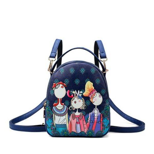 Kids School Backpack Designer Baby Girls Boys Cartoon Letter Printed Shoulders Bags Multipurpose Cross-body Bags Candy Snack Bags